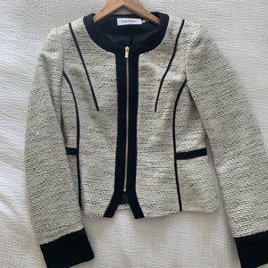 Calvin Klein classic 90s Tweed Jacket